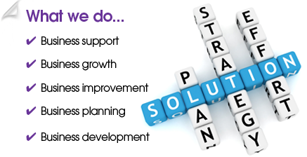 Business support, Business growth, Business improvement, Business planning, Business development